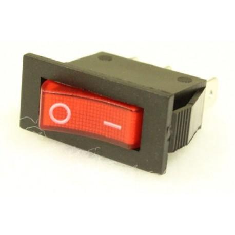 interrupteur bipolaire rouge petit mod le elydis shop. Black Bedroom Furniture Sets. Home Design Ideas
