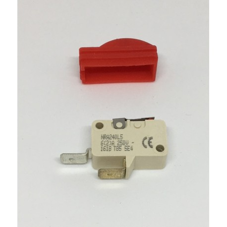 Micro-contact (avec protection rouge) pour pistolet