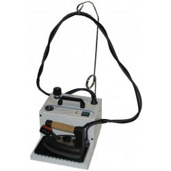 Générateur de vapeur BIELLE 1F31 2.3 LITRES avec fer professionnel et semelle Téflon